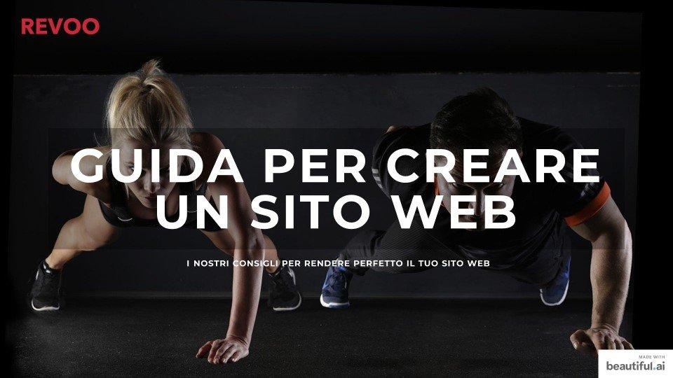 copertina ebook Guida per creare un sito web REVOO