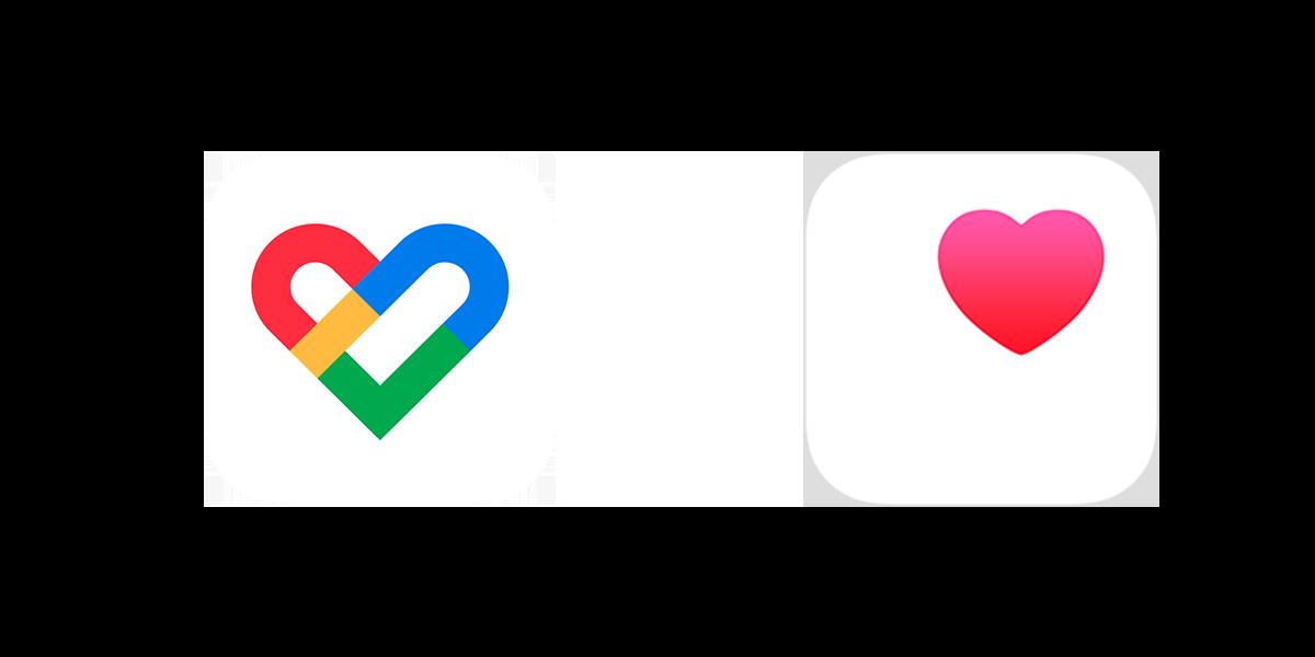 google fit e app salute logo